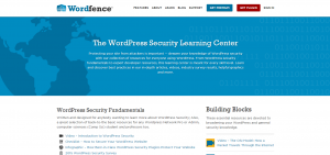 The WordPress Security Learning Center Wordfence  WordPress Launches Security Learning Center The WordPress Security Learning Center Wordfence 300x141