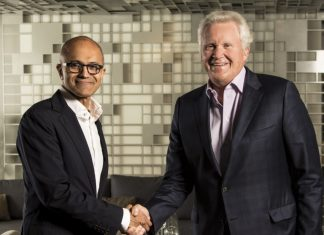 microsoft  Internet Of Things MS Execs 2016 06 Nadella Immelt 8 768x698 324x235