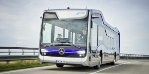 mecedes  Mercedes-Benz Semi-Autonomous Bus Successfully Navigates 12.4-Mile Drive mercedesbus 300x149